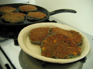Gluten Free Blue Corn Griddle Cake